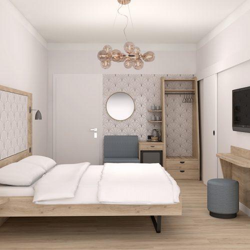 Villa Flöckner Salzburg- Doppelzimmer Zimmer-6-11