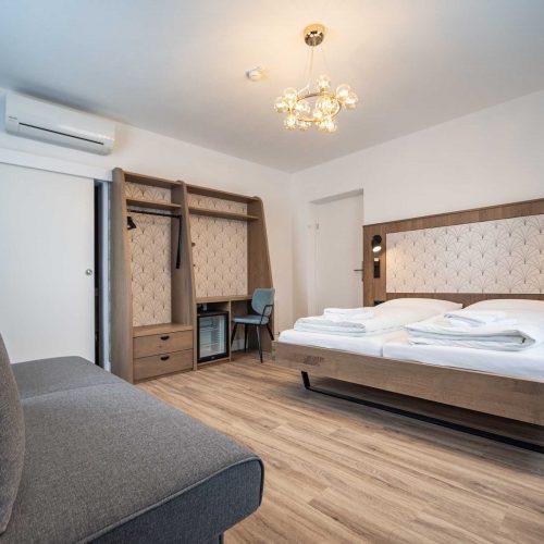 Villa Flöckner Salzburg - Hotel Doppelzimmer Bett