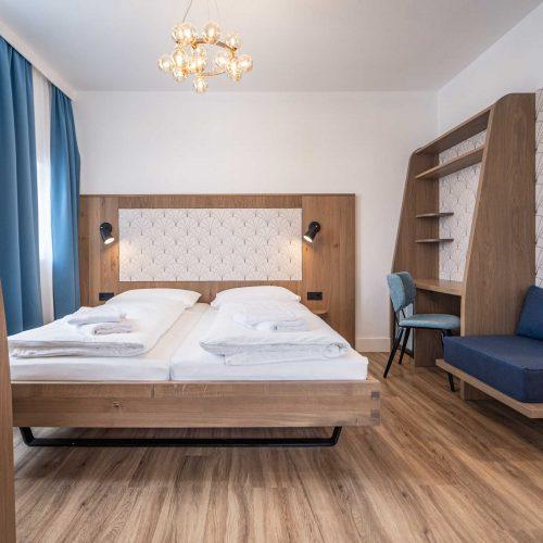 Villa Flöckner Salzburg - Hotel Vierbett Zimmer