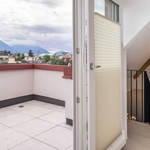 Villa Flöckner Salzburg - Suite Etage Balkon